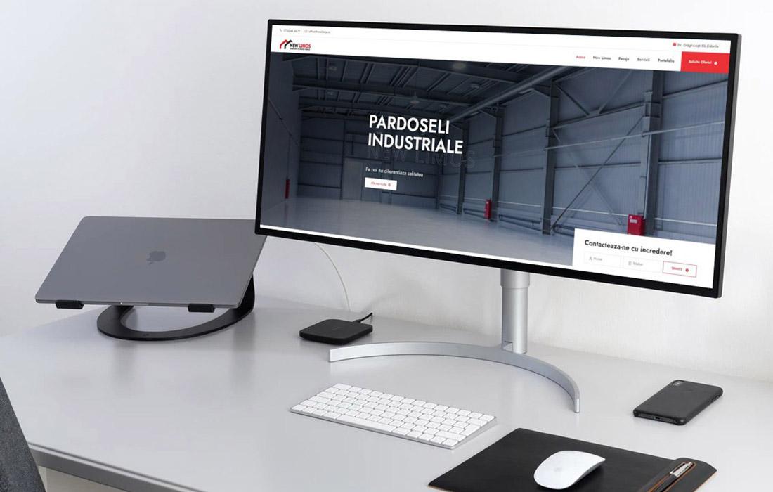 Site prezentare firma